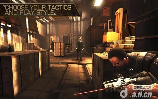 殺出重圍:墮落修改版(含數據包) Deus Ex: The Fall v0.0.19-Android射击游戏類遊戲下載