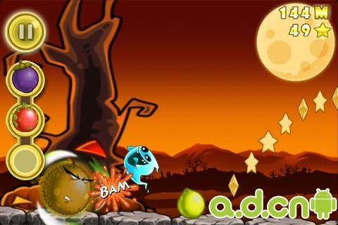 水果大逃亡 Fruit Roll v1.5.3-Android益智休闲類遊戲下載
