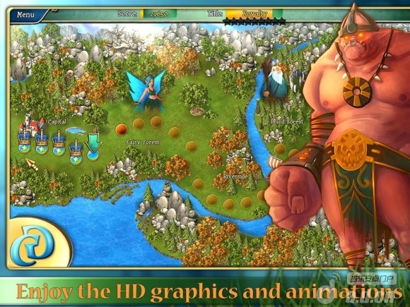 國王的傳說精簡版(含數據包) Kingdom Tales v1.1.0-Android模拟经营類遊戲下載