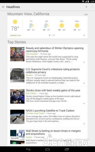 谷歌新闻和天气 Google News Weather