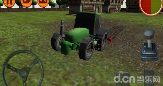 3d拖拉机农场驾驶游戏