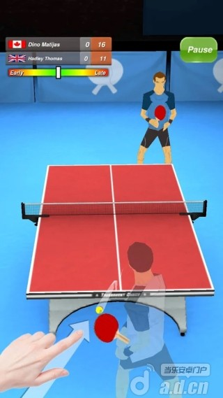 乒乓球 Table Tennis