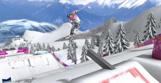 冬奥会滑雪儿童画分享展示