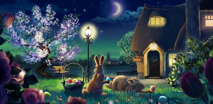 夜景花园动态壁纸 v1