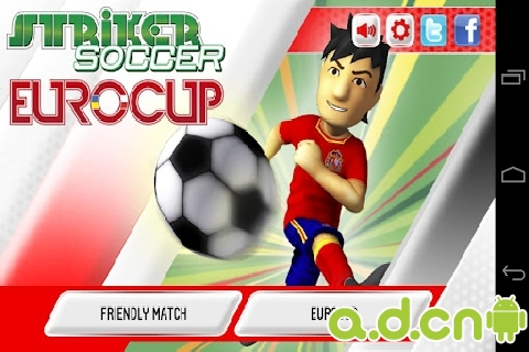 足球欧洲杯2012 Striker Soccer Eurocup 2012