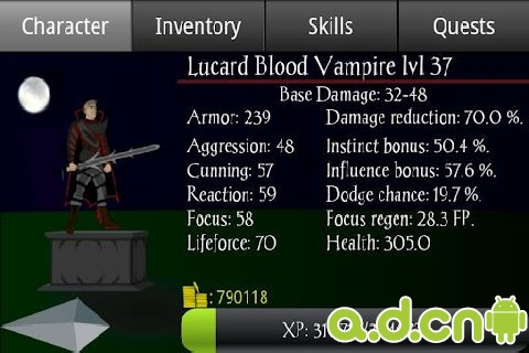 帝国的陨落 Vampire's Fall RPG