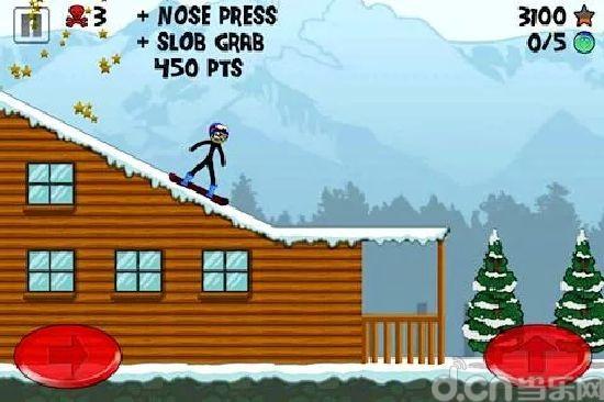 火柴人极限滑雪 Stickman Snowboarder