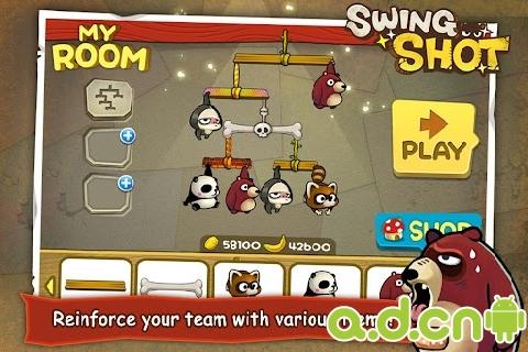 猴子也瘋狂 Swing Shot v1.00.07-Android益智休闲類遊戲下載