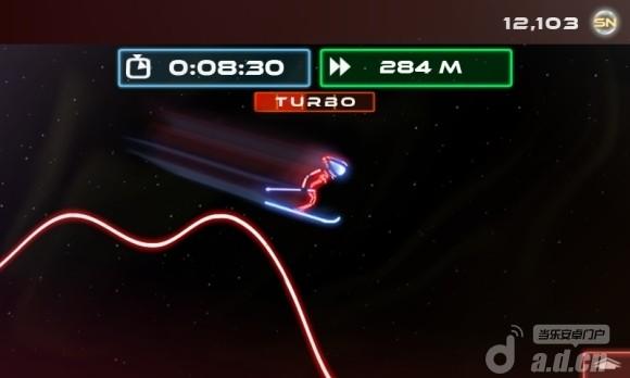 霓虹滑雪 修改版 Neon Ski
