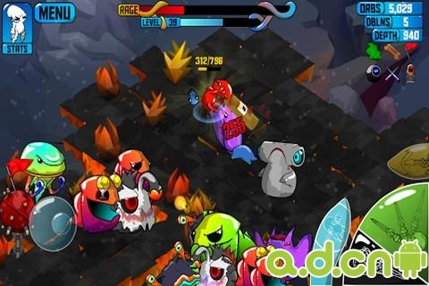 玩角色扮演App|狂暴魔法人 Quadropus Rampage免費|APP試玩