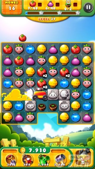 狂熱的花園 Garden Mania v1.2.3-Android益智休闲類遊戲下載