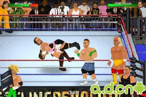 搞笑美式摔跤 Wrestling Revolution